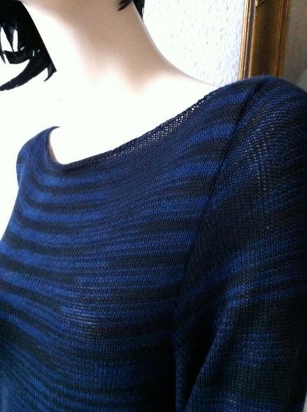 Pullover aus Cashmere 1ply von Artyarns, Design: Daniela Johannsenova