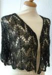 I 121 Beaded Silk Mohair with Sequins Jacket, Design: Sharon Sorken, Artyarns, www.maschenkunst.de