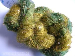 Beaded Mohair & Sequins, H22 gold, Artyarns