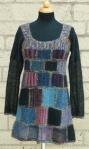 Tiffany, Design: Daniela Johannsenova, Beaded Mohair & Sequins, Silk Mohair, Silk Pearl (Artyarns), www.maschenkunst.de