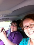 Daniela und Isa auf dem Weg nach Italien