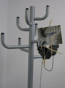 Maschenkunst im Wartezimmer - vielen Dank an Marion
