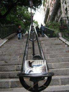 Maschenkunst in Paris. Vielen Dank an Marion!