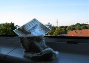 Maschenkunst in Hannover - vielen Dank an Marion!