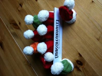 Maschenkunst in der Weihnachtsstube - vielen Dank an Monika!