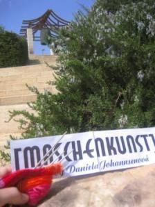 Maschenkunst in Jerusalem. Vielen Dank an Margitta!