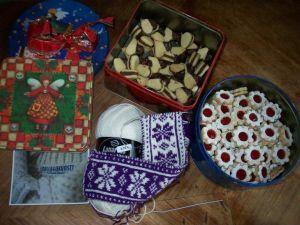 Maschenkunst in der Weihnachtsbäckerei - vielen Dank an Ceren!
