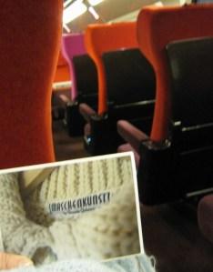 Maschenkunst im Thalys - vielen Dank an Marion!