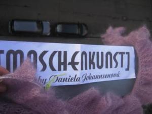 Hoch hinaus - Maschenkunst in Stuttgart! Vielen Dank an Bloomsbury!