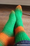 Green Orange Tick - Grün Orange Tick, Daniela Johannsenova, Maschenkunst