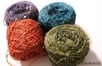 Beaded Silk & Sequins light, Artyarns, Maschenkunst, Daniela Johannsenova