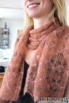 Wavy Pearls, Design: Daniela Johannsenova, Material: Silk Mohair and Beaded Mohair & Sequins von Artyarns, www.maschenkunst.de