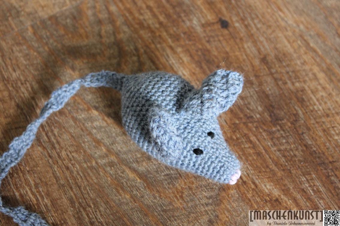 Hunde Katze Maus Maschenkunst