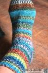 Socken - Schoppel Admiral R Druck - Giftzwerg und Katzenbeisser bei Maschenkunst - www.maschenkunst.de