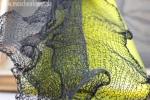Formbarer Schal aus Silk Steel von Isager/ bei www.maschenkunst.de